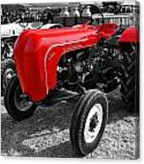 The Red Porsche Canvas Print