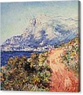 The Red Road Near Menton Canvas Print