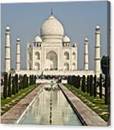 The Reflecting Pool In The Charbagh Or Canvas Print