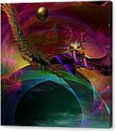 The Return ....of Draconem... Canvas Print