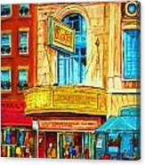 The Rialto Theatre Canvas Print