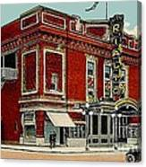 The Rialto Theatre In Brooklyn N Y In The 1920's Canvas Print