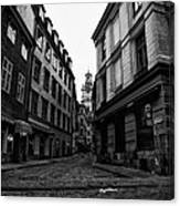 The Right Way Stockholm Canvas Print