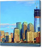 The Rising Freedom Tower Canvas Print