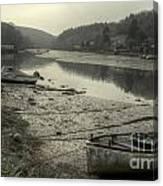 The River Fowey At Lerryn Canvas Print