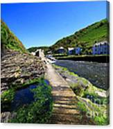 The River Valency At Boscastle Canvas Print