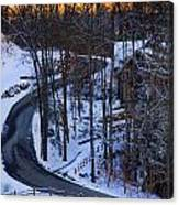 The Road Is Clear Canvas Print