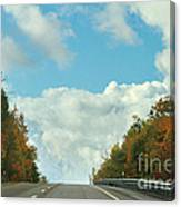 The Road To Heaven Canvas Print