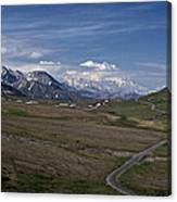 The Road To The Great One Canvas Print
