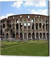 The Rome Coliseum Canvas Print