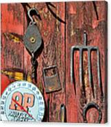 The Rusty Barn - Farm Art Canvas Print