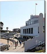 The Sala Burton Building . Maritime Museum . San Francisco California . 7d13993 Canvas Print