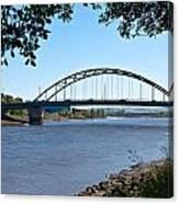The Scotswood Bridge Canvas Print