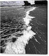 The Sea And The Foam Canvas Print