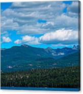 The Selkirk Mountains Of Priest Lake Canvas Print