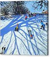 The Shadow Derbyshire Canvas Print