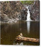 The Shallows Waterfall 3 Canvas Print