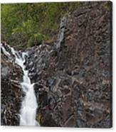 The Shallows Waterfall 4 Canvas Print