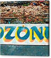 The Sign Of The Ozone Canvas Print