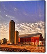 The Skittles Barn Canvas Print