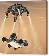 The Sky Crane Maneuver Canvas Print