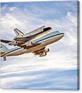 The Space Shuttle Endeavour Canvas Print