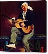 The Spanish Singer Canvas Print