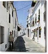 The Spanish Village Mijas Canvas Print