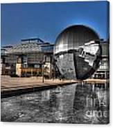 The Sphere At Bristol Canvas Print