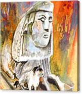 The Sphinx Of Petraion Canvas Print