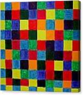 The Square Mandala Canvas Print