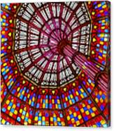 The Stained Glass Ceiling Canvas Print