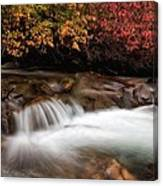 The Steady River Flow Canvas Print