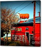 The Steakhouse On Route 66 Canvas Print