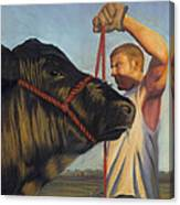 The Steer Canvas Print