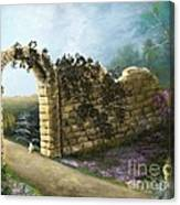 The Stone Wall Canvas Print
