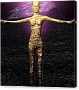 The Stoneborn Priestess Of Khufu Canvas Print