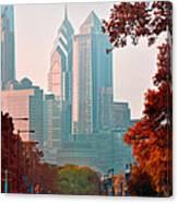 The Streets Of Philadelphia Canvas Print
