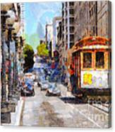 The Streets Of San Francisco . 7d7263 Canvas Print