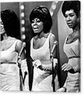 The Supremes Florence Ballard, Diana Canvas Print