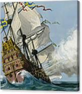 The Swedish Warship Vasa Canvas Print