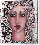 The Tangled Woman Canvas Print