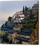 The Terraces Of Amalfi Canvas Print