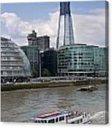 The Thames London Canvas Print