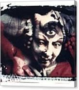 The Third Eye Polaroid Transfer Canvas Print