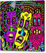 The Three Of Us Canvas Print