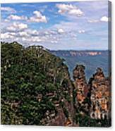 The Three Sisters - The Blue Mountains Canvas Print