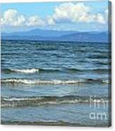 The Tide Was High Canvas Print