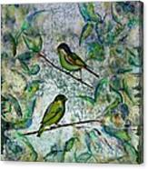 The Time Of Singing Birds Canvas Print