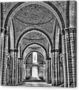 The Tombs At Fontevraud Abbey   France Canvas Print
